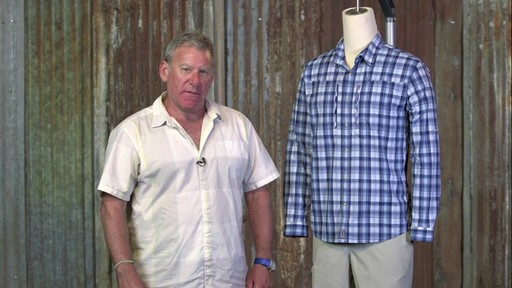 Patagonia Mens Long Sleeve Sun Stretch Shirt - image 8 from the video