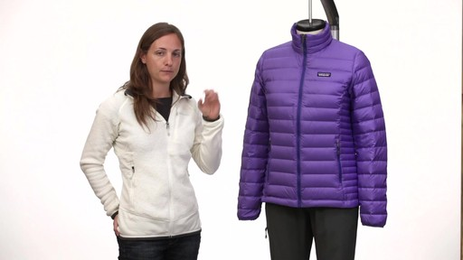 Patagonia Womens Down Jacket - on eBags.com - image 10 from the video
