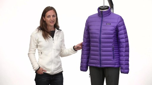Patagonia Womens Down Jacket - on eBags.com - image 2 from the video