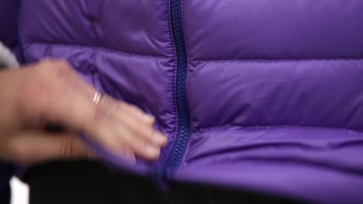Patagonia Womens Down Jacket - on eBags.com - image 9 from the video