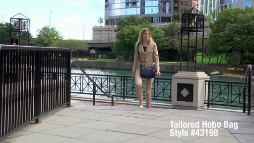 Travelon Anti-Theft Tailored Hobo Bag - image 1 from the video