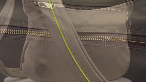 Travelon Anti-Theft Tailored Hobo Bag - image 5 from the video