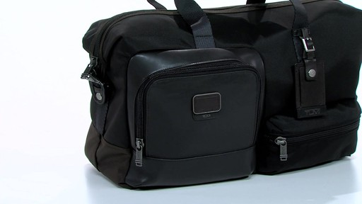 Tumi Alpha Bravo Grissom Travel Satchel - eBags.com - image 3 from the video