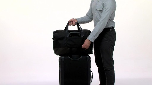 Tumi Alpha Bravo Grissom Travel Satchel - eBags.com - image 6 from the video