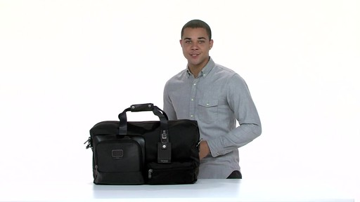 Tumi Alpha Bravo Grissom Travel Satchel - eBags.com - image 8 from the video