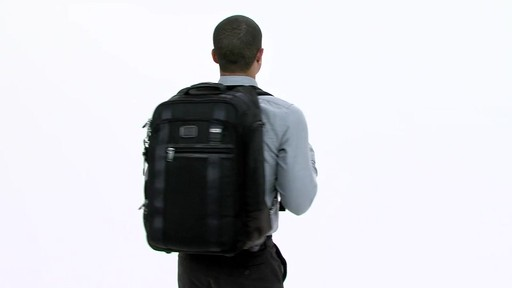 Tumi Alpha Bravo Peterson Wheeled Backpack - eBags.com - image 1 from the video