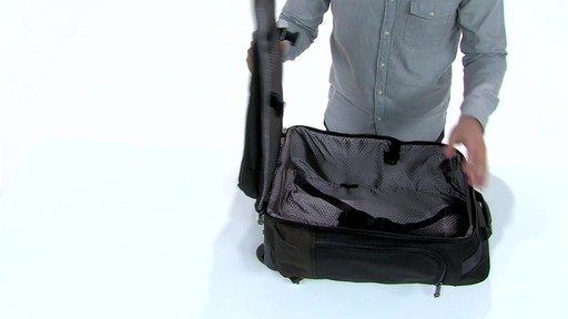 Tumi Alpha Bravo Peterson Wheeled Backpack - eBags.com - image 7 from the video