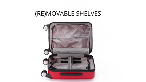 eBags EXO 2.0 Hardside Spinner Carry-On - image 5 from the video