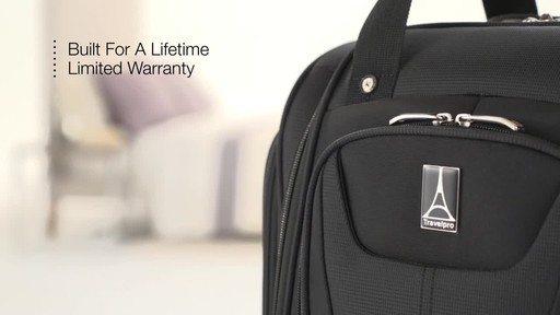 Travelpro Maxlite 5 Rolling Underseat Carry-On Bag - image 10 from the video