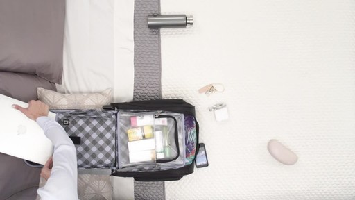 Travelpro Maxlite 5 Rolling Underseat Carry-On Bag - image 4 from the video