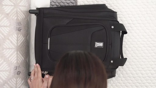 Travelpro Maxlite 5 Rolling Underseat Carry-On Bag - image 5 from the video