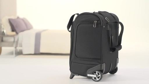 Travelpro Maxlite 5 Rolling Underseat Carry-On Bag - image 7 from the video