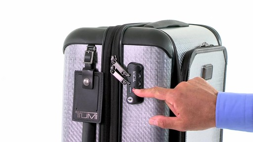 Tumi Tegra-Max Continental Expandable Carry-On - eBags.com - image 9 from the video