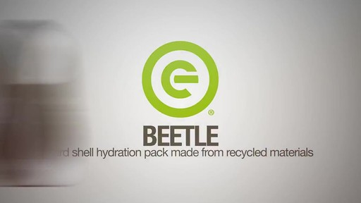 ecogear Beetle Hydration Pack - image 1 from the video
