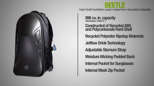 ecogear Beetle Hydration Pack - image 10 from the video