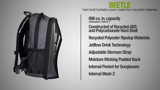 ecogear Beetle Hydration Pack - image 8 from the video