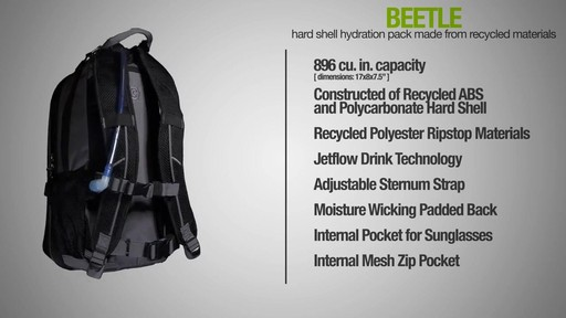 ecogear Beetle Hydration Pack - image 9 from the video