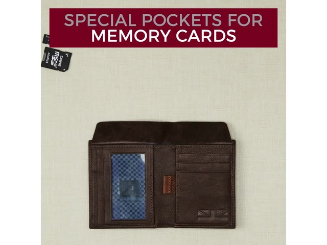 Ben Sherman Luggage Hendon Slim RFID Leather Bifold Wallet - eBags Exclusive - image 3 from the video