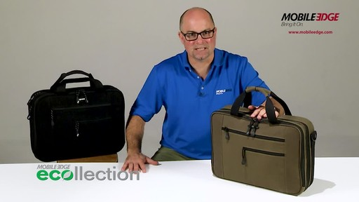 Mobile Edge Canvas ECO Briefcase - image 1 from the video