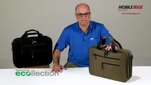 Mobile Edge Canvas ECO Briefcase - image 2 from the video