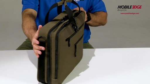 Mobile Edge Canvas ECO Briefcase - image 5 from the video