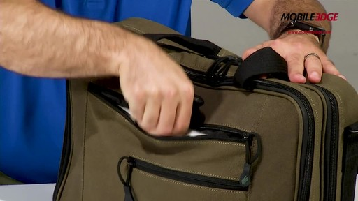 Mobile Edge Canvas ECO Briefcase - image 6 from the video