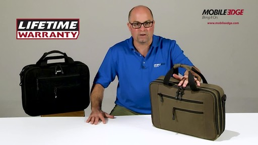 Mobile Edge Canvas ECO Briefcase - image 9 from the video