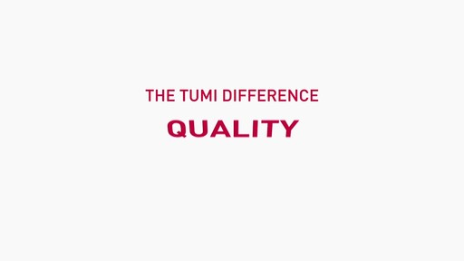 The Tumi Difference - Innovation - image 1 from the video
