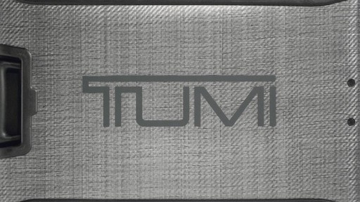 The Tumi Difference - Innovation - image 5 from the video