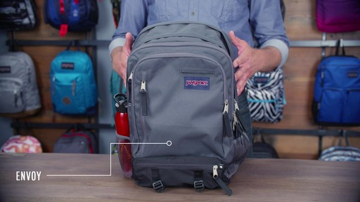 JanSport - Envoy Backpack - image 1 from the video