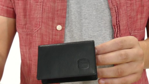 Suvelle Mens Thin RFID Slim Leather Card Holder Wallet - image 3 from the video