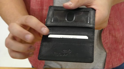 Suvelle Mens Thin RFID Slim Leather Card Holder Wallet - image 7 from the video