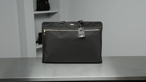 Tumi Voyageur Odessa Garment Bag - image 10 from the video