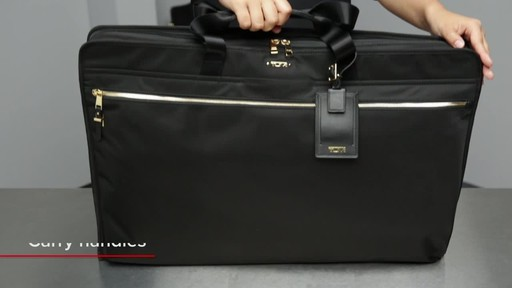 Tumi Voyageur Odessa Garment Bag - image 2 from the video