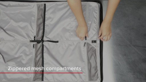Tumi Voyageur Odessa Garment Bag - image 5 from the video