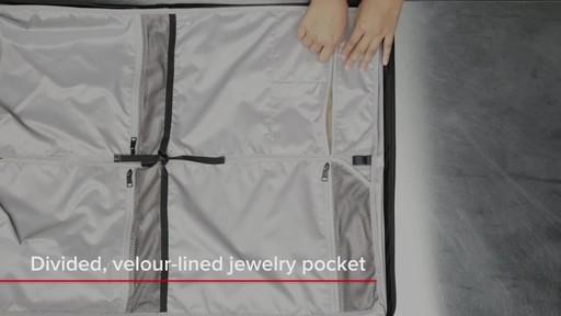Tumi Voyageur Odessa Garment Bag - image 6 from the video