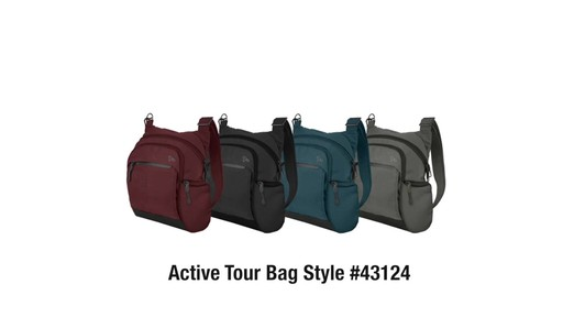 Travelon Anti-Theft Active Tour Bag - on eBags.com - image 10 from the video