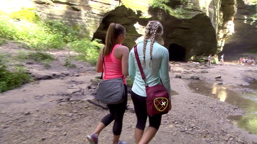 Travelon Anti-Theft Active Tour Bag - on eBags.com - image 8 from the video