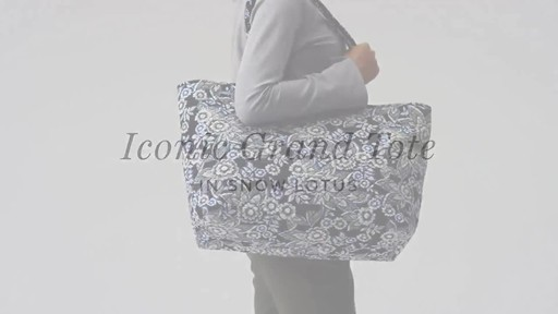 Vera Bradley Iconic Grand Tote - image 1 from the video