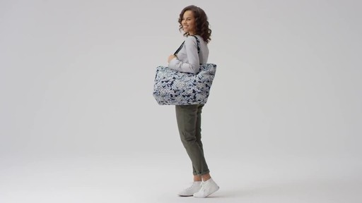 Vera Bradley Iconic Grand Tote - image 2 from the video