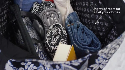 Vera Bradley Iconic Grand Tote - image 4 from the video