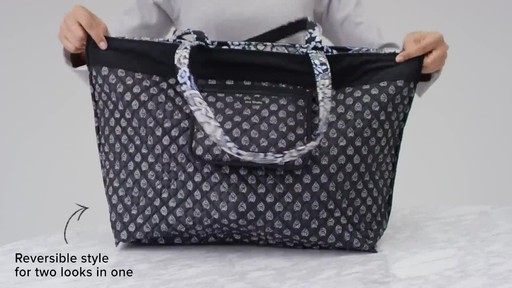 Vera Bradley Iconic Grand Tote - image 6 from the video