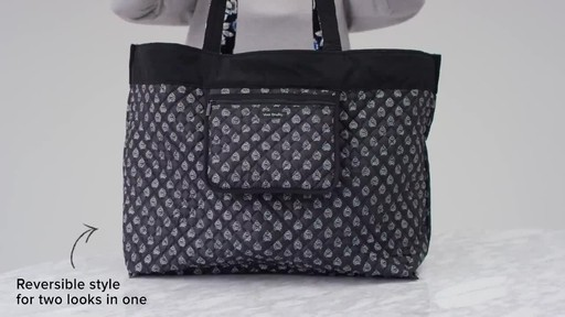Vera Bradley Iconic Grand Tote - image 7 from the video