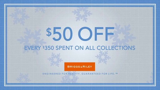 Briggs & Riley - Build More Happiness Holiday Video - image 9 from the video