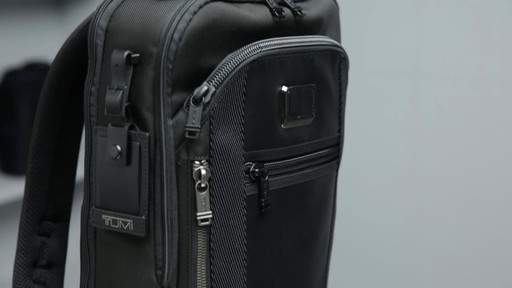 Tumi Alpha Bravo Davis Laptop Backpack - image 10 from the video