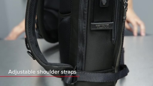 Tumi Alpha Bravo Davis Laptop Backpack - image 2 from the video