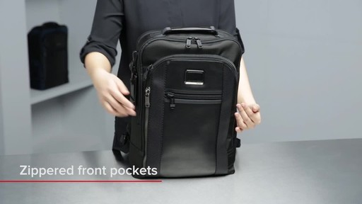 Tumi Alpha Bravo Davis Laptop Backpack - image 4 from the video