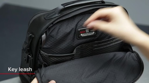 Tumi Alpha Bravo Davis Laptop Backpack - image 9 from the video