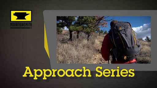 Mountainsmith Approach Hiking Backpacks - image 1 from the video