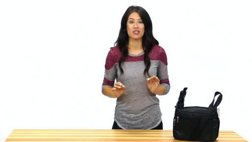 Suvelle Hobo Travel Everyday Shoulder Bag - image 7 from the video